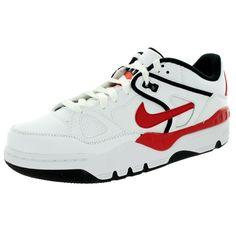 Nike Men's Air Force Iii Low /University Red/Black/Tm Orange Basketball Shoe