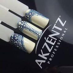 Repost from @luxio_siberia. #nails #nailart #luxiogel #akzentz #gelnailart #gelnails #thenailhub Dot Nail Art, Polka Dot Nails, Nail Art Diy, Manicure, Gel Nails, Beautiful Nail Designs, Beautiful Nail Art, Nail Art Wheel, Dot Nail Designs