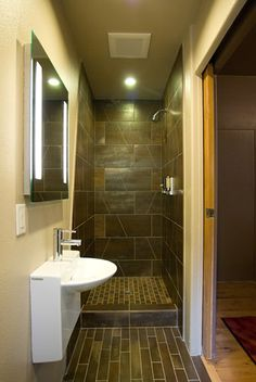 With a toilet / sink combo this would be a workable tiny space.