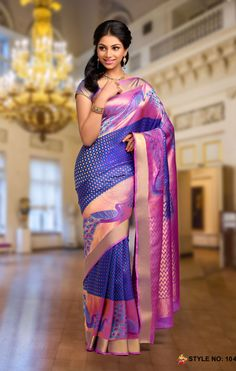 At HARSHINI SILK, we take pride in delivering to you the best and the Most Beautiful of the Indian Ethnic Costume 'The Saree' or 'Sari'. Indian Silk Sarees, Soft Silk Sarees, Indian Beauty Saree, Sari, Saree Dress, Saree Blouse, Sleeveless Blouse, Indian Attire, Indian Wear