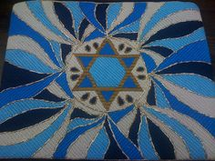 Star Tallit by Gone Stitching1, via Flickr