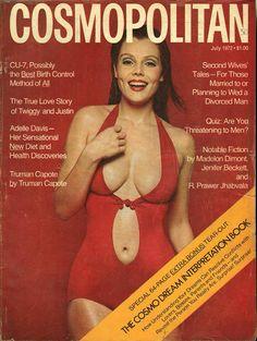 Cosmopolitan magazine, JULY 1972 Model: Ann-Charlotte