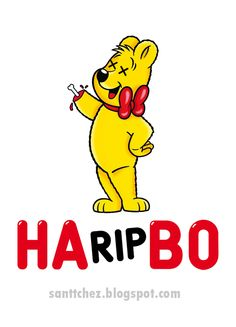 Halloween horror Logo Haribo