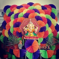 30 Best Ganapati Decoration Images On Pinterest
