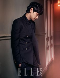 Kang Dong Won - Elle Magazine May Issue '13