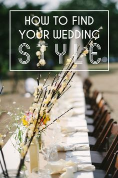 """How to Find Your Wedding Style with Elizabeth: """"I constantly reassure my clients that the first decisions they make regarding their wedding are by nature the hardest—the further you go the easier things get, and in fact, towards the end you'll notice things start to just fall into place."""""""
