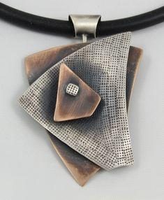 Triangles 3 Layer Necklace - B Nelson Designs Store