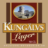 Kungälvs lager (5,0 volymprocent) - Kungälvs lager är ett ljust lageröl bryggt på pilsner- och karamellmalt samt humlat på tradiotionellt sätt med hela humlekottar av högsta kvalitét.