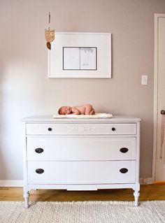 Nursery dresser/changing surface.