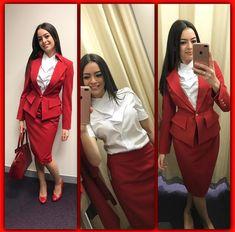 【イギリス】ヴァージン・アトランティック航空 客室乗務員 / Virgin Atlantic Airways cabin crew【UK】 Grace Perry, Duster Coat, Photo And Video, Instagram, Google, Fashion, Moda, Fashion Styles, Fashion Illustrations