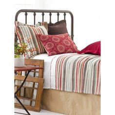 Ranch Stripe Bedding Set