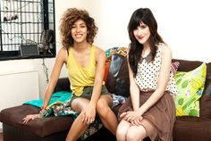 tour fashion bloggers christina cardona and bonnie barton's apartment