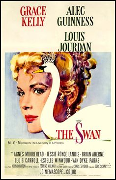 THE SWAN Grace Kelly 1952 Movie Poster Print by BloominLuvly, $9.95