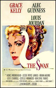 El Cisne, con Grace Kelly. Película de 1952. Elegante.