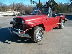WILLYS JEEPSTER , BARN FIND , 60'S HOT ROD , NO RUST ,FORD V8 AUTO STREET ROD in eBay Motors | eBay