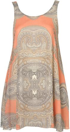 Paisley Dress By Love - Lyst