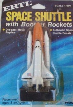 John Kenneth Muir's Reflections on Cult Movies and Classic TV: Ertl Space Shuttle