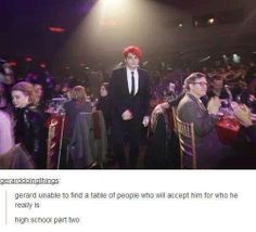 If this is true, they really just don't understand MCR at all. Now I'm sad!