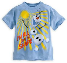 Olaf Tee for Boys - Frozen on shopstyle.com