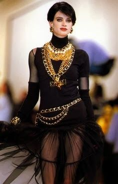 d726891688 Chanel F W 1991. Model Kristen Mcmenamy Chanel Couture