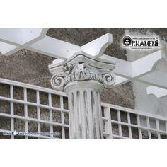 Coloana Ornamentala din beton in Stilul Grecesc Ionic Columns, Decor, Houses, Greece, Decoration, Decorating, Deco