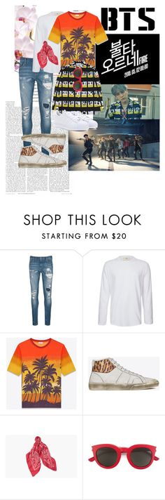 """""""BTS Fire Yoongi Outfit"""" by omg-jimin ❤ liked on Polyvore featuring Scotch & Soda, Folk, Yves Saint Laurent, adidas, men's fashion and menswear"""