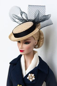 victoire Roux | Suit, hat and shoes: Boater Ensemble Barbie® Doll