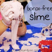 Slime recipe for sensory learning