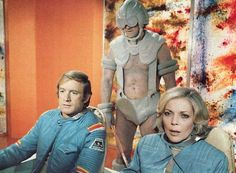 Alan Carter and Helena Russell, from the Space 1999 Annual 1978.