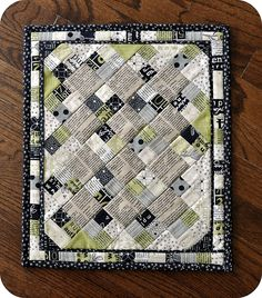 Mini Quilt by The Quilt Dad. Pattern in Summer '08 issue of Quilts & More.