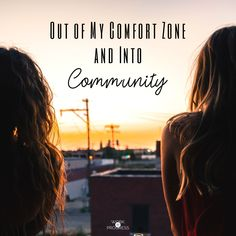 Even in the loneliness and the isolation, God was with me and he still had a plan for my life.   Out of My Comfort Zone and Into Community https://workinprogressblog.co/2017/09/09/comfort-zone-community/?utm_campaign=coschedule&utm_source=pinterest&utm_medium=Sarah&utm_content=Out%20of%20My%20Comfort%20Zone%20and%20Into%20Community