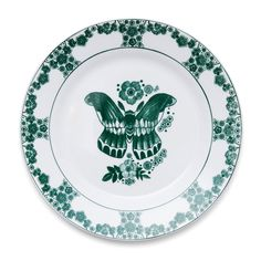 Ivy+Side+Plate+Ø19cm,+Anitha+Schulman Interiors Online, Side Plates, Kitchen Interior, Indigo, Tableware, Ivy, Furniture, Design, Dinnerware