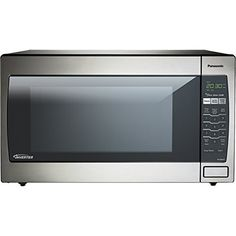 Panasonic NN-SN952S Stainless 1250W 2.2 Cu. Ft. Countertop Microwave Oven with Inverter Technology Panasonic