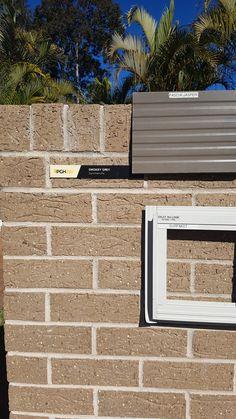 PGH Smokey Grey brick Jasper colorbond roof Surfmist windows