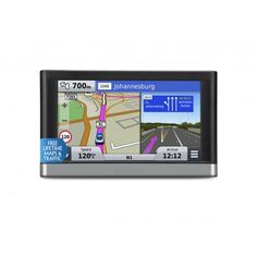 The Garmin nüvi 2597LMT is a complete navigation companion with advanced navigation features and valuable driving tools for a safer, faster and stress free journey. This Advanced widescreen navigator offers Free Lifetime Maps and Traffic. It features a built-in Traffic Receiver and a new universal mounting solution that reduces visual clutter in the vehicle. Voice control allows you to keep your hands on the steering wheel and your eyes on the road  www.capeunionmart.co.za Stress Free, Clutter, Outdoor Gear, Maps, Vehicle, Journey, Tools, Electronics, Instruments