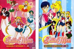SAILOR MOON SEASON 1 & 2 COMPLETE SERIES [IN ENGLISH] NEW DVD BOX SET US SELLER