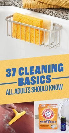 Cleaning tips, cleaning hacks, cleaning basics everyone should know