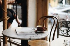 cafe for coffee.