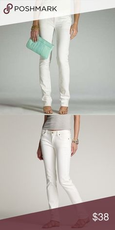 White Denim Matchstick Jean White Denim Matchstick Jean J. Crew Jeans