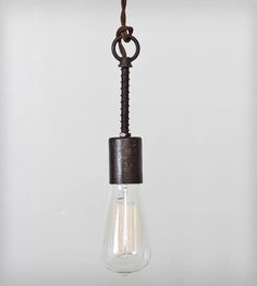 Industrial Spring Pendant Light | Home Lighting | Flea Market Rx | Scoutmob Shoppe | Product Detail