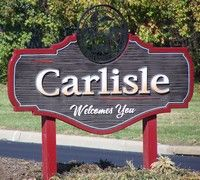 Carlisle (Ohio) Welcomes You The Perfect Daughter, Warren County, Farm Signs, Our Town, Carlisle, Vacation Trips, Small Towns, Welcome, Signage