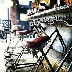 bike bar seating - Google Search