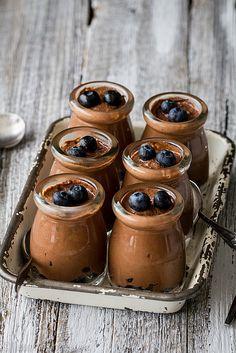 Chocolate and blueberry mousse | Ichigo Shortcake