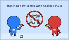 Blocking annoying ads was never automatic . until today: Adblock Plus is now integrated directly into Maxthon Browser! Adblock Plus, Toolbox, Annoyed, Ads, Tool Box, Dopp Kit