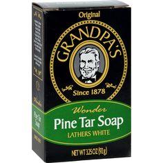 Grandpa's Pine Tar Bar Soap - 3.25 oz