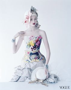 From the Archives: Corsetry in Vogue Photographed by Tim Walker, Vogue, January 2012