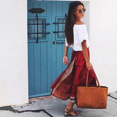 Rengi, tarzı, rahatlığı...  Yarın için #StilOnerisi - Link profilimizde : #marvaldel - #inspiration #blogger  #streetstyle #summer