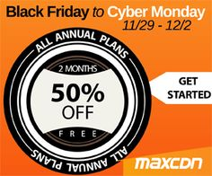 25 best Black Friday 2014 Web Hosting Deals are here from HostGator, GoDaddy, Network Solutions, iPage.com, Domain, Register.com and more. Compare deals and get the best affordable hosting plan for your business.
