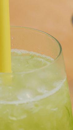 Es Timun Serut Beverages, Drinks, Glass Of Milk, Cake Recipes, Pudding, Desserts, Food, Syrup, Drinking