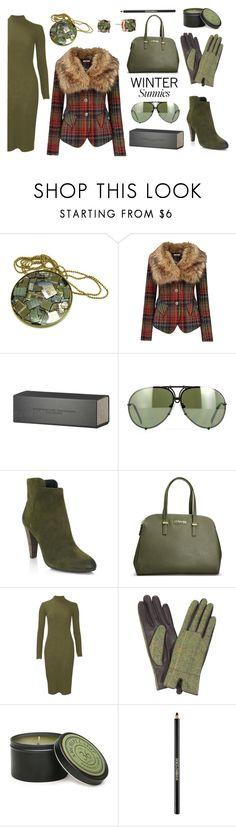 Winter Sunnies #3 by kimzarad1 on Polyvore featuring Joe Browns, Elie Tahari, Avenue, Sam Edelman, Porsche, Porsche Design, Dolce&Gabbana, Archipelago Botanicals, women's clothing and women's fashion